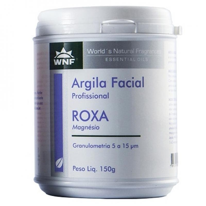 imagem Argila Roxa Natural - 150 g - WNF