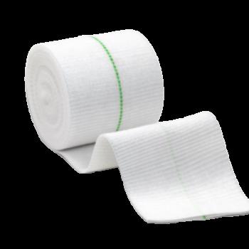 imagem Bandagem Elástica para Fixação de Curativos - Tubifast Verde - 5 cm x 10 m - Molnlycke