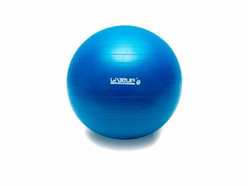 imagem Bola Suiça S - 65 cm - Azul - LiveUp Sports
