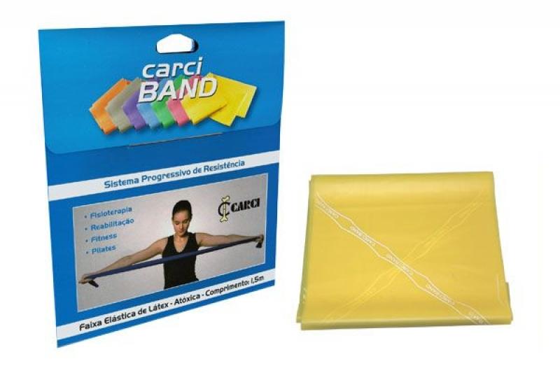 imagem Faixa Elástica Carci Band - 1,5 m x 15 cm - Fraca - Carci