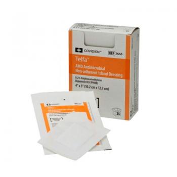 imagem Curativo não Aderente Antimicrobiano Telfa AMD - 10.2 x 12.7 cm - Covidien