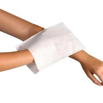 imagem Luva em Não-Tecido para Banho e Limpeza em Geral - Skin Pro - Pacote com 25 unidades - Hartmann