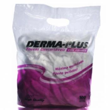 imagem Touca Descartável Com Elástico Dermaplus - 100 Unidades - Drakkar