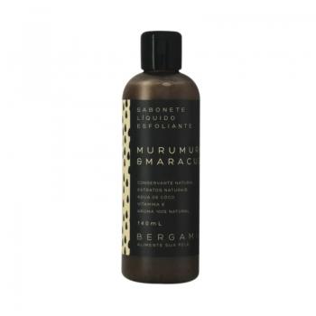 imagem Sabonete Esfoliante de Murumuru e Maracujá - 140 ml - Bergamia
