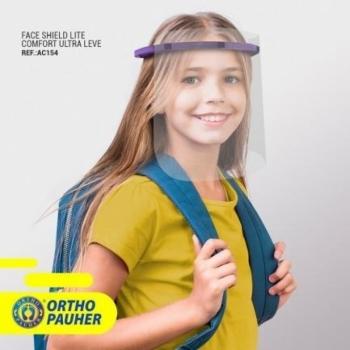 imagem Máscara de Proteção Face Shield Ultra Leve - REF: AC154 - Ortho Pauher