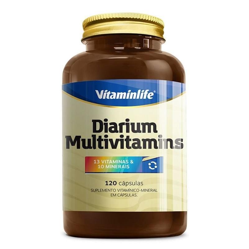 imagem Diarium Multivitamínico - 120 Cápsulas - Vitaminlife