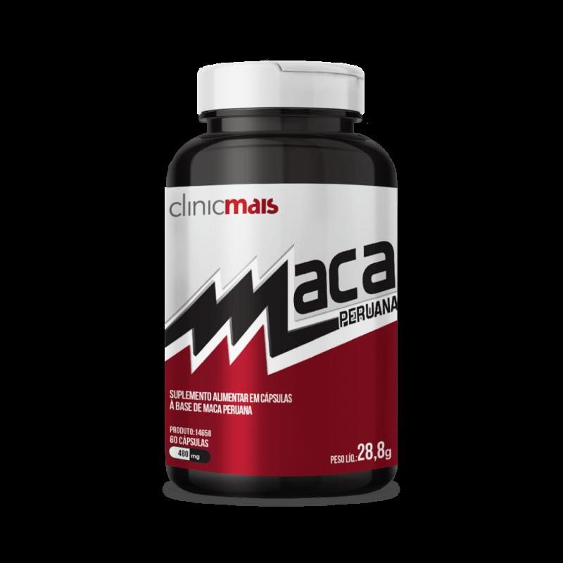 imagem Maca Peruana - 480 mg - 60 cáps - Clinicmais